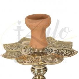 Imágenes de cachimba o shisha El Nefes Sultan con base de Bohemia negra