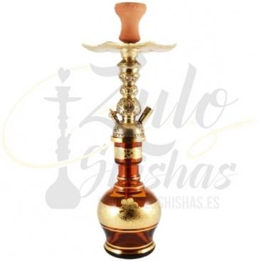 Imágenes de cachimba o shisha El Nefes Colonial con base de Bohemia en color Marrón
