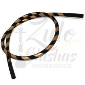 Imágenes de manguera para cachimba Striped con diseño espiral