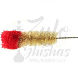 Imágenes de cepillo de pelo natural para limpiar base de shisha o cachimba