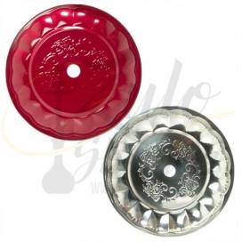 Imágenes de plato para cachimba o shisha DUD de colores