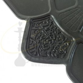 Imágenes de platos para cachimbas estilo Amazon Hookah o Hookah King - Zulo Shishas