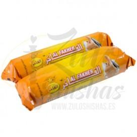 Imágenes de carbón Al Fakher barato para cachimbas o shishas caja de 100 unidades