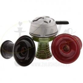 Imágenes de cazoleta de cerámica para cachimbas HC Mikro - Hispacachimba