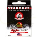 Imágenes de cartuchos para cachimbas electrónicas Starbuzz E-Hose Apple Doppio