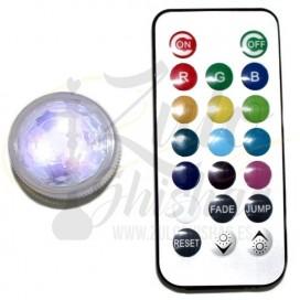 Imágenes de led acuático con mando a distancia en Zulo Shishas