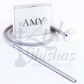 Imágenes de cachimba o shisha AMY Deluxe 470 Small Rips Black - Clear