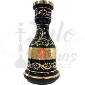 Imágenes de Yunan Base Bohemia llamas y grabados dorados online
