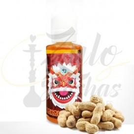 Imágenes de líquido para cigarrillo electrónico cacahuete Premium