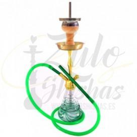 Imágenes de cachimba AMY Deluxe Green Gold comprar online 440