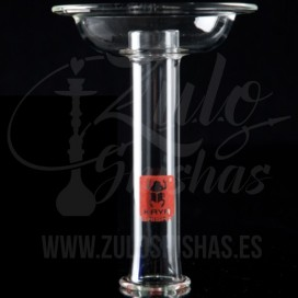 Imágenes de cazoleta phunnel de cristal para cachimbas y shishas Kaya Shishas