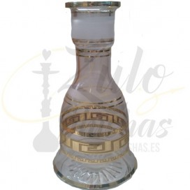 Imágenes de base de cristal El Boho de bohemia transparente para shisha