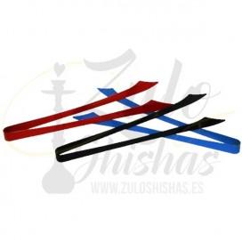 Imágenes de pinzas para cachimbas El Nefes Tong XL de colores