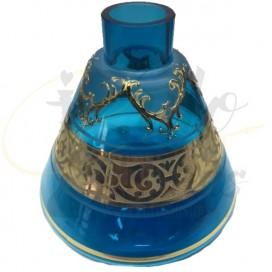 Imágenes de base de bohemia mini turquesa para shishas