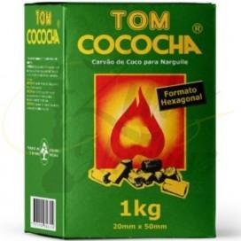 Imágenes de carbón de cachimbas Tom Cococha Brasileño hexagonal comprar online Zulo Shishas