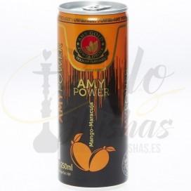 Imágenes de bebida energética Maracuja sabor a cachimba AMY Deluxe