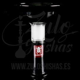 Imágenes de cazoleta para cachimba de cristal Black negra