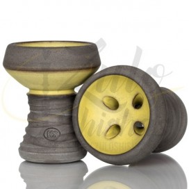 Imágenes de cazoleta KS Appo para cachimbas yellow