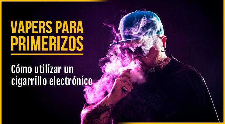 Cómo usar un vaper o cigarrillo electrónico.
