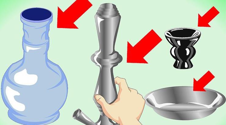 Cómo limpiar una cachimba? ✏️ 5 pasos para mantener limpia