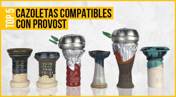 Las mejores cazoletas compatibles con gestor de calor Provost.