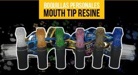 Mouth Tip Resine, las nuevas boquillas de resina para fumar cachimba.