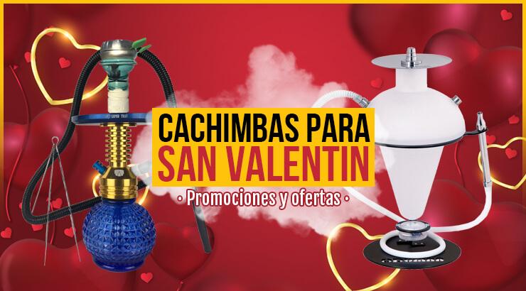 Ofertas en cachimbas, para San Valentín.