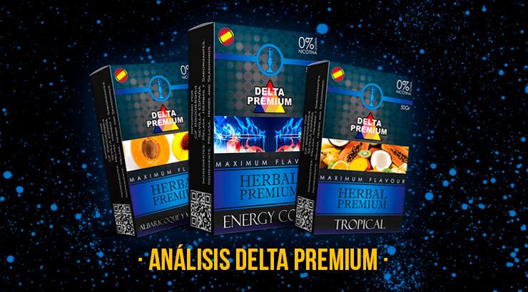 Review y opiniones sobre Delta Premium sin nicotina.