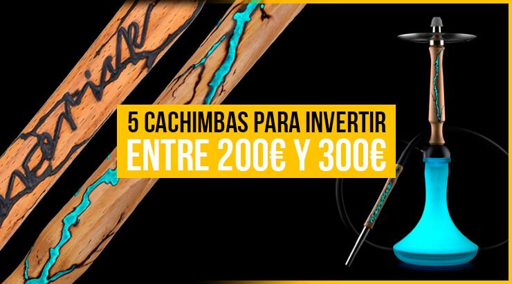 Las mejores cachimbas entre 200€ y 300€: modernas y exclusivas.