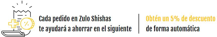 Programa de puntos y fidelidad de Zulo Shishas.