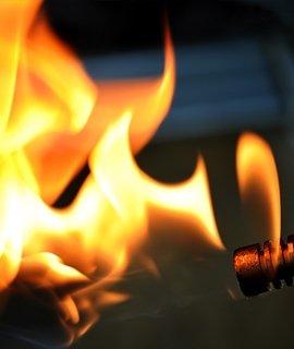 Encendedores y hornillos para carbones de cachimba.